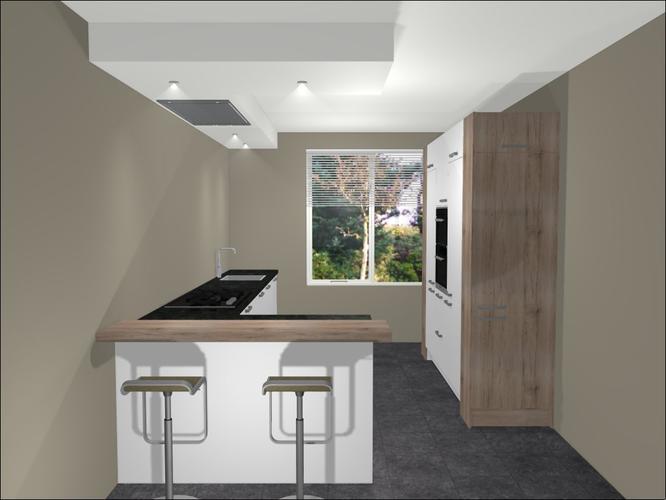 Top Afvoerkanaal en verlaagd plafond keuken - Werkspot #GK88