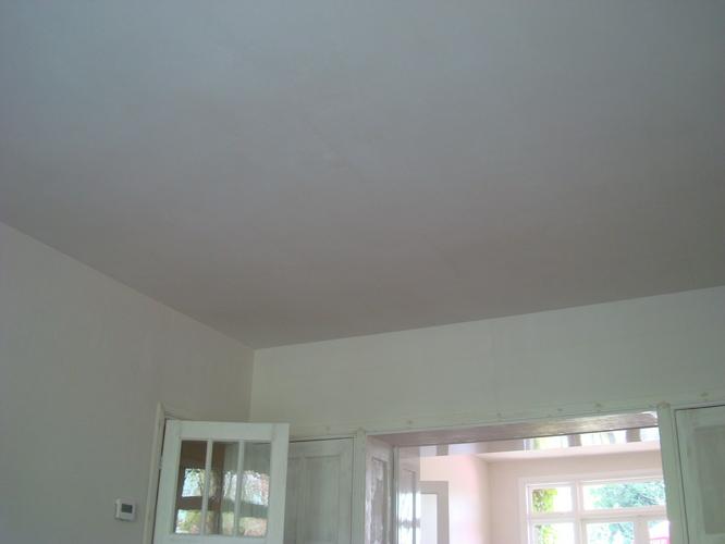 getrokken lijstwerk namaken op strak gestuct plafond