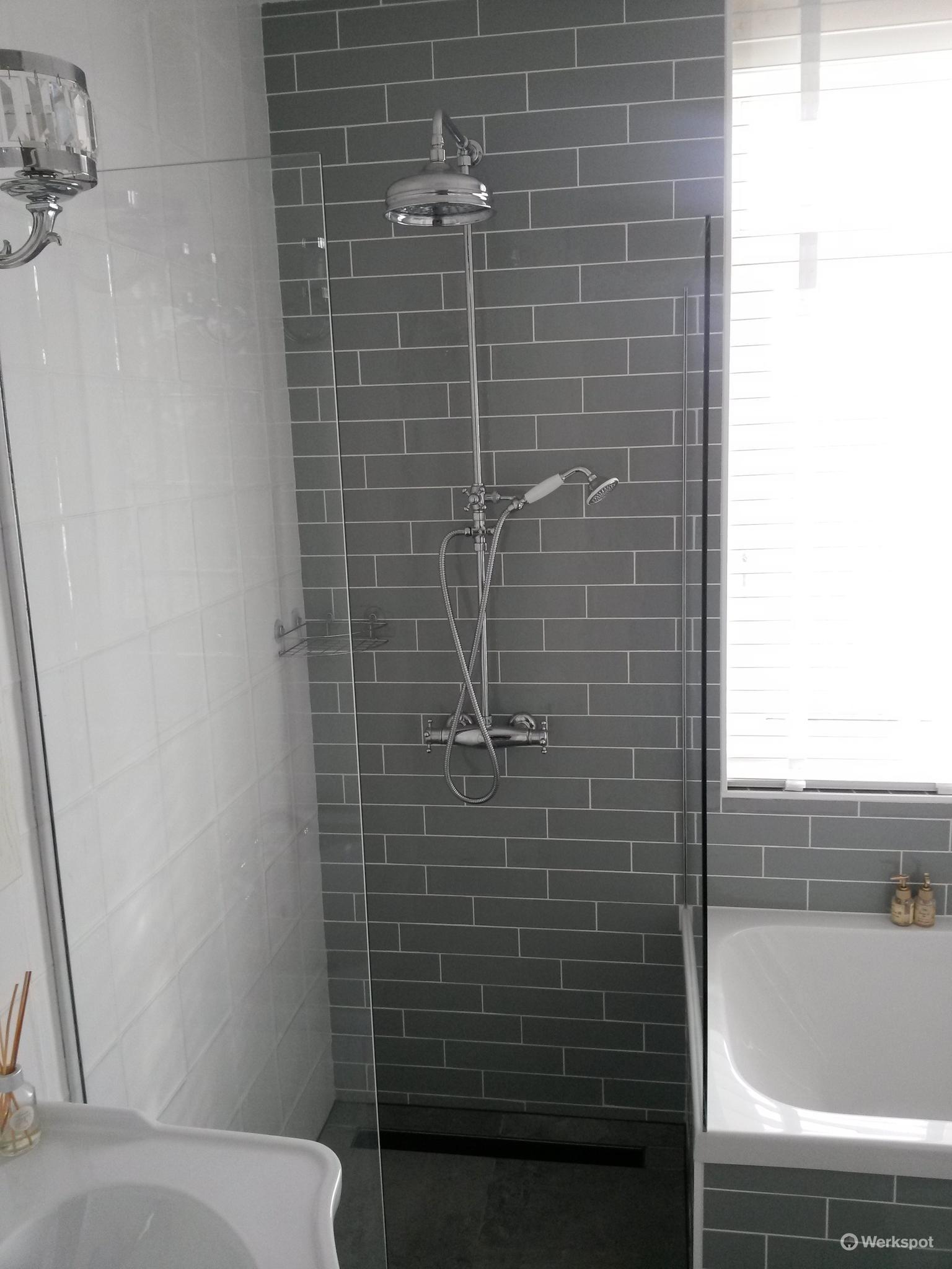 Spijkenisse nieuwbouw badkamer en toilet bij Menno & Priscilla ...