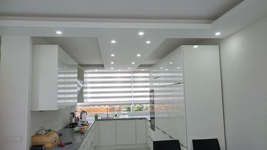 Wand en plafond decoratie werkspot - Decoratie woonkamer plafond ...