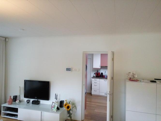 Verbouwing muren balken kozijn in hal kamer keuken werkspot
