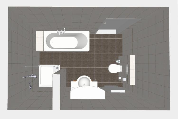 Badkamer m en toilet inrichten werkspot