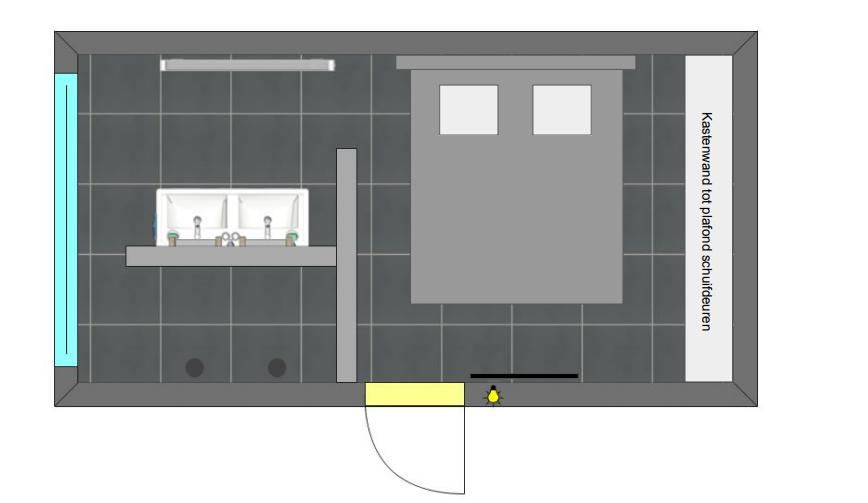 Inpandige garage ombouwen naar gecombineerde bad/slaapkamer - Werkspot