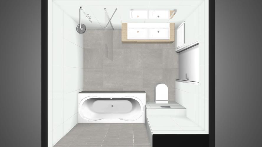 Casco badkamer 7m2 en toilet werkspot