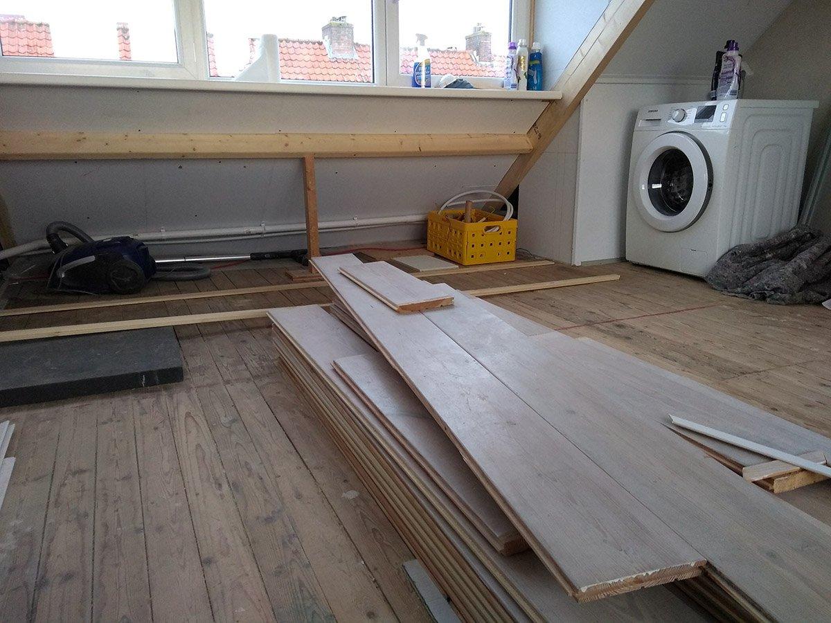 Ondervloer Houten Vloer : Houten vloer ondervloer en underlayment plaatsen zolder werkspot