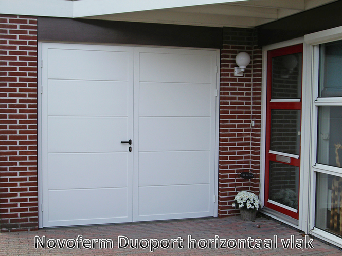 New Garagedeur vervangen door openslaande garagedeuren - Werkspot @ZZ04