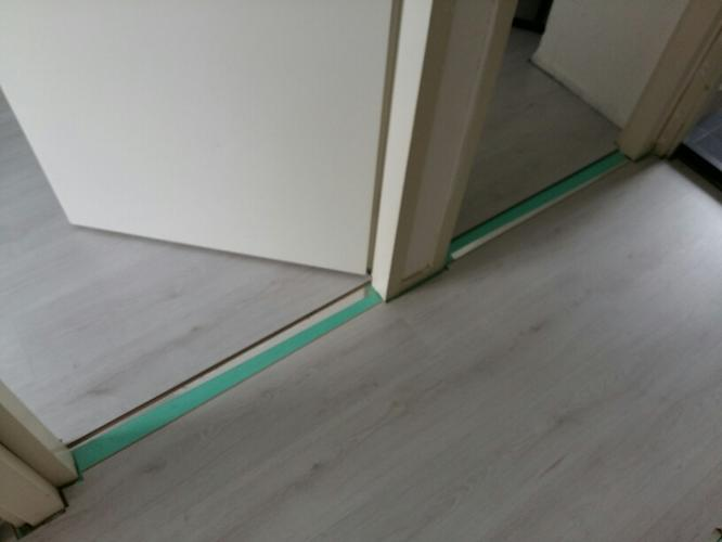 Bedwelming Traprenovatie laminaat of flexxfloors + Overgangsprofielen WA33