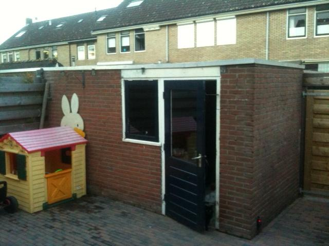 Dakbedekking Schuur Vervangen : Plat dak op schuur maken eigen huis tuin april dakbedekking