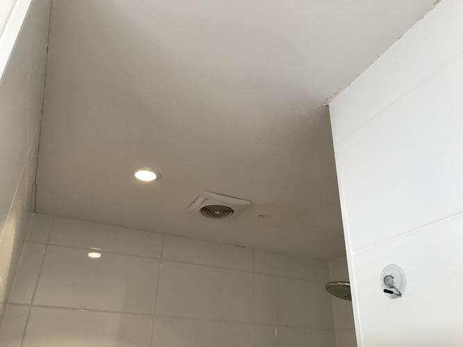 Afzuiging Badkamer Lekt : Verhelpen lekkage plat dak en stucen plafond badkamer werkspot