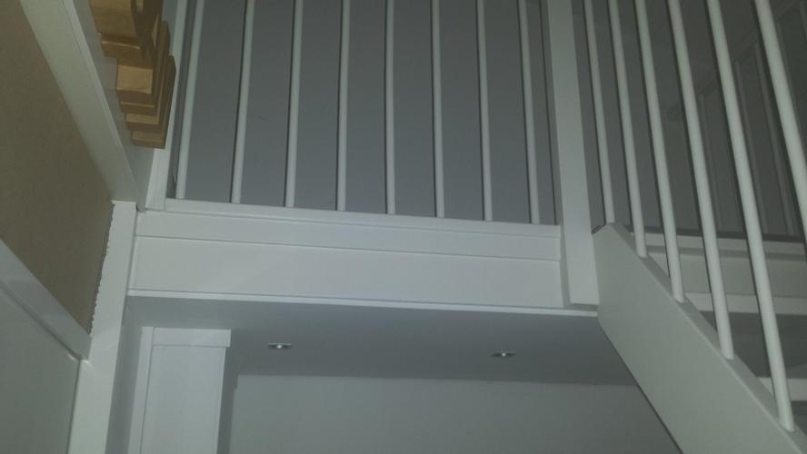 Plaatsen trap onderkwart en vlonder naar vide werkspot for Plaatsen trap