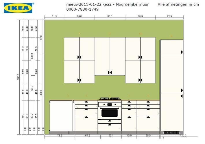 Ikea Duktig Keuken Afmetingen : Plaatsen ikea keuken Werkspot