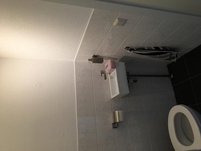 Brugman Toilet Renovatie : Verbouwing toilet tegelen 1 leiding infrezen en toiletgat verplaa