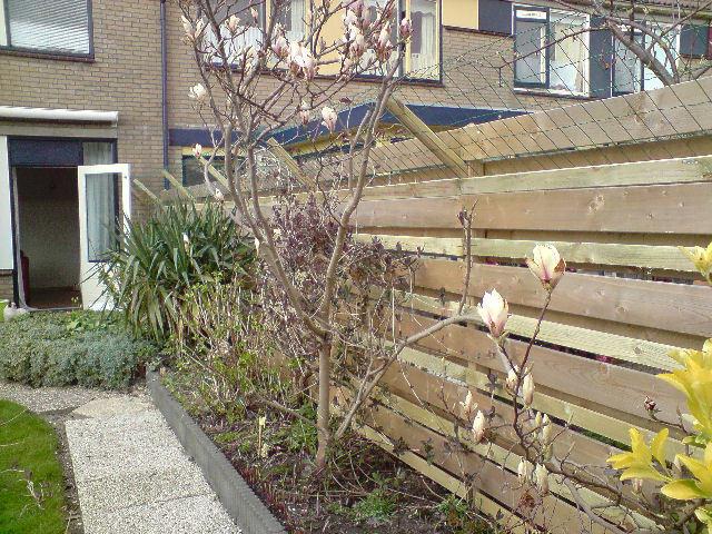 Tuin Afzetten Kat : Afzetting tuin voor kat boven schutting monteren werkspot