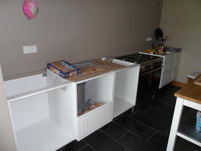 Keuken Zonder Apparatuur : Opbouwen ikea keuken zonder bovenkastjes werkspot