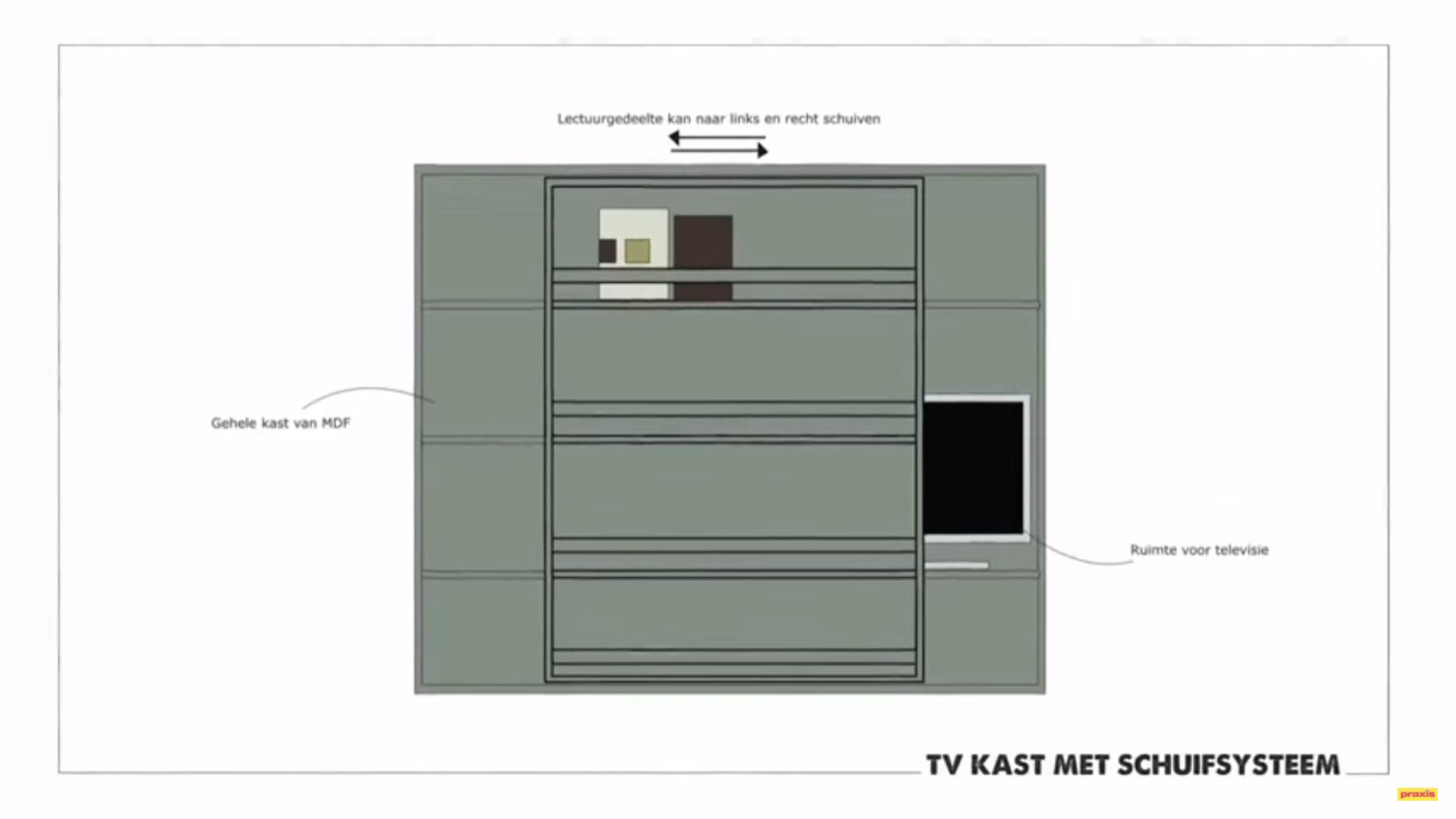 Wandkast Maken Waar Tv In Kan Staan Werkspot
