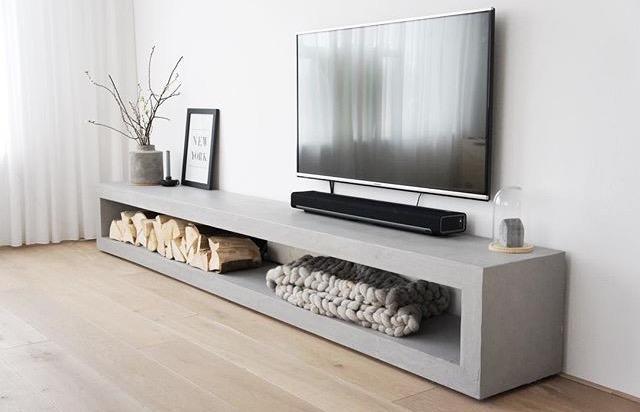 Tv Meubel Met Beton Ciré Werkspot