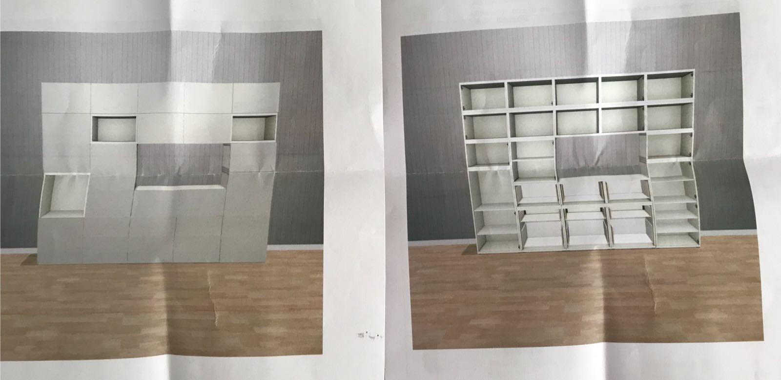 Verrassend Besta Ikea kast in elkaar zetten - Werkspot QY-57