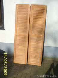 twee louvre deuren 53cmx215cm werkspot. Black Bedroom Furniture Sets. Home Design Ideas