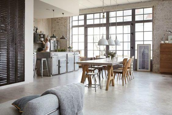 Gietvloer Betonlook Keuken : Gietvloer epoxyvloer woonkamer incl keuken en hal werkspot