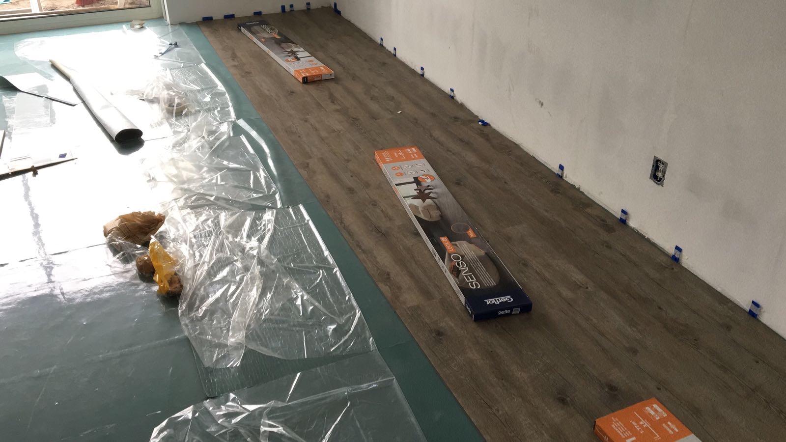 Senso Pvc Vloeren : Pvc vloer leggen beneden 1e etage werkspot