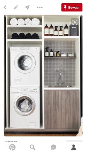 Laundry Room Ideas Small Stacked