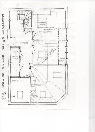 Constructie vaste trap naar vliering in woonkamer werkspot for Trap naar vliering