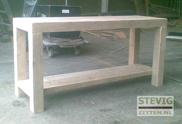 Steigerhout Sidetable Tuin.Steigerhouten Sidetable Maken En 2 Nachtkastjes Werkspot