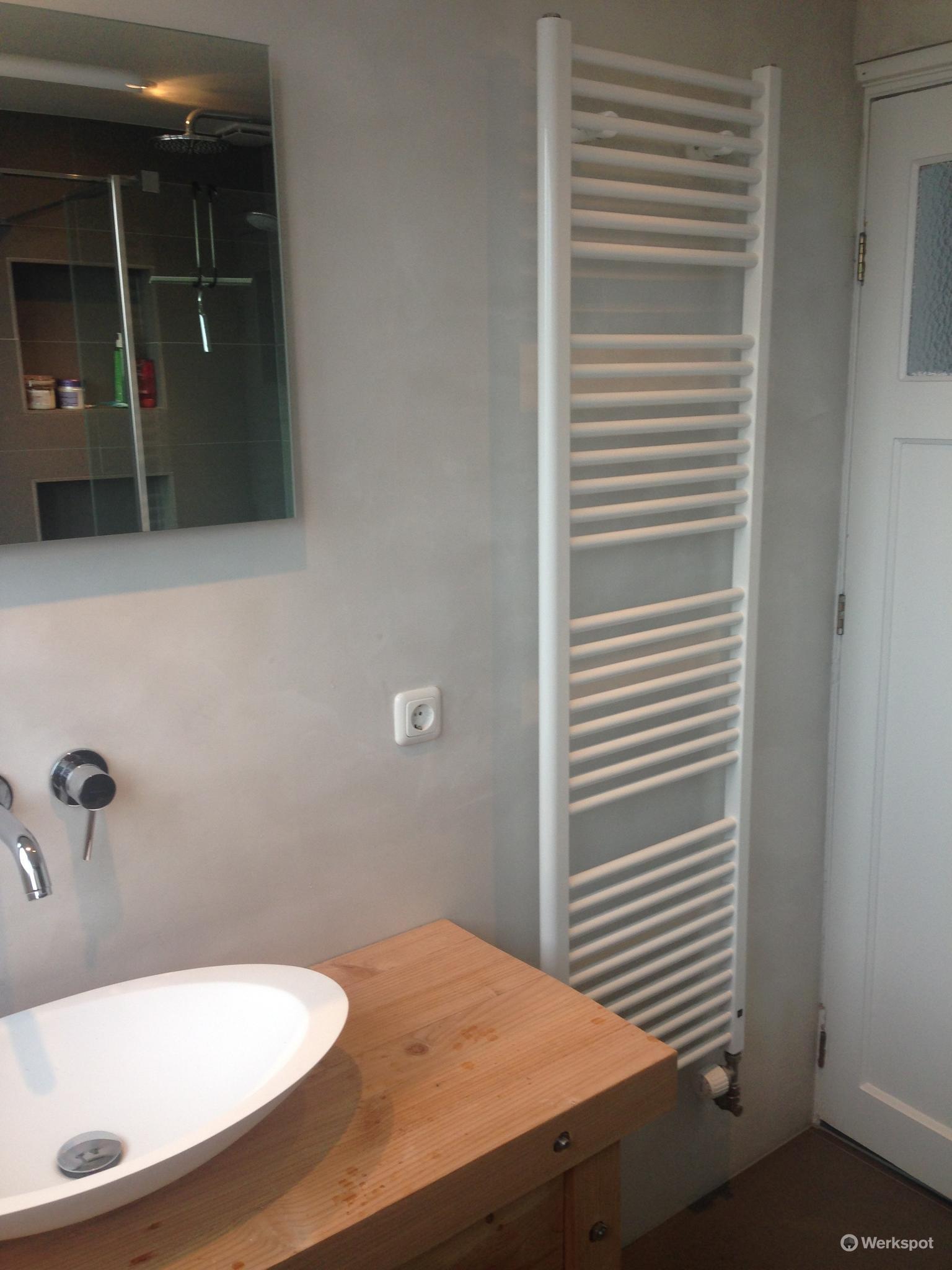 Badkamer renoveren + aanleggen vloerverwarming - Werkspot