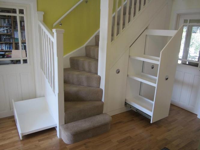 trapkast woonkamer - Werkspot