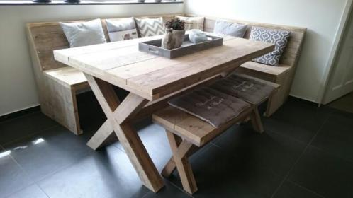 Eetkamer Hoekbank met tafel - Werkspot