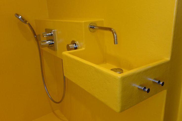 Polyester Badkamer Muur : Badkamer verbouwen naar badkamer met polyester coating werkspot