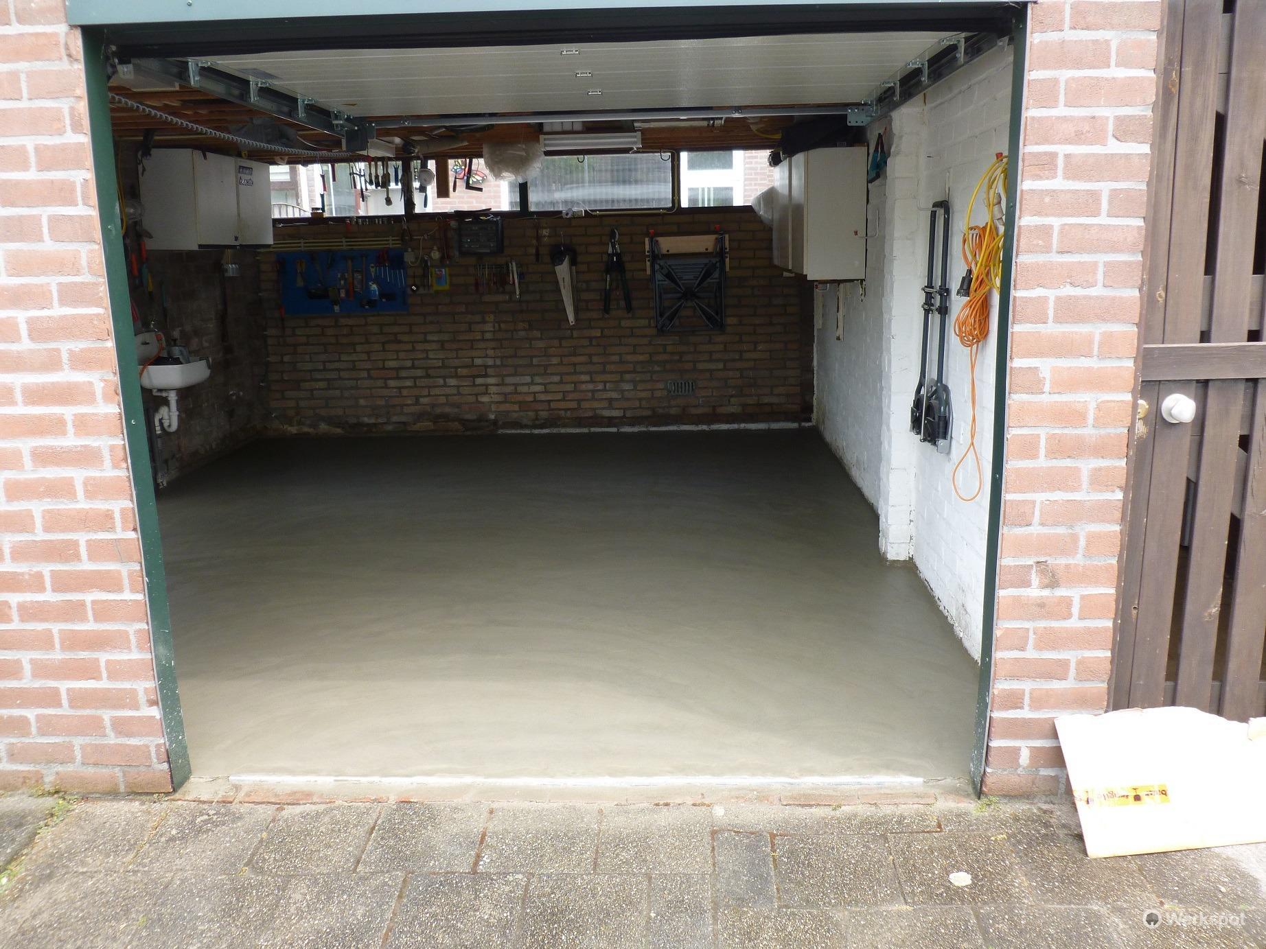 garagevloer vernieuwen werkspot