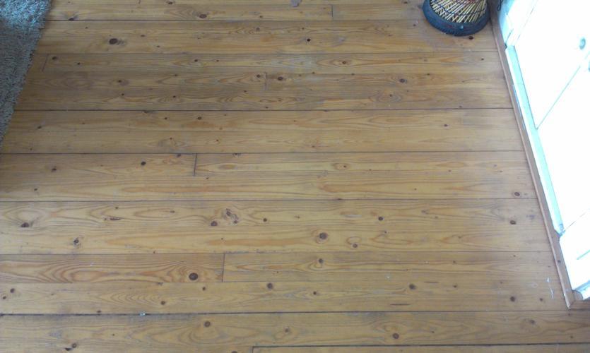Houten vloer opknappen werkspot