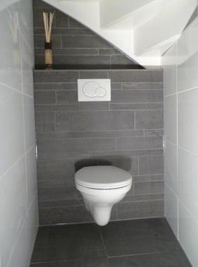 Toilet betegelen werkspot for Fotos wc hangen tegel