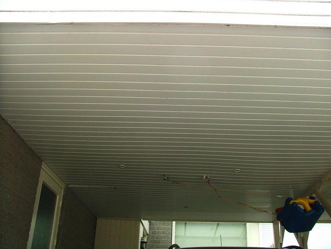 vervanging plafond carport vervanging spots werkspot