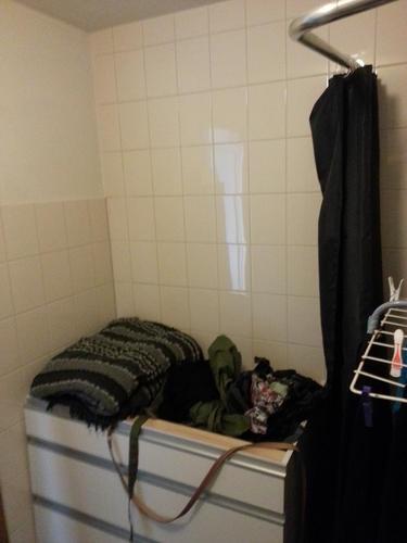 Betegelen van badkamer toilet werkspot - Betegelen van natuurstenen badkamer ...