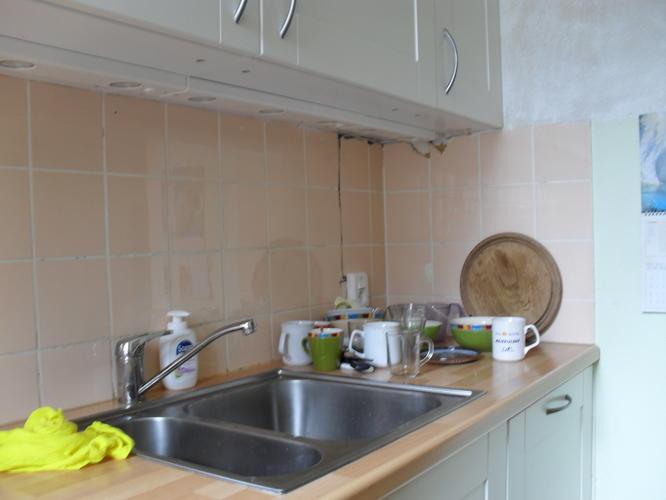 Oude handbeschilderde tegels v keuken schouw kache soest baarn