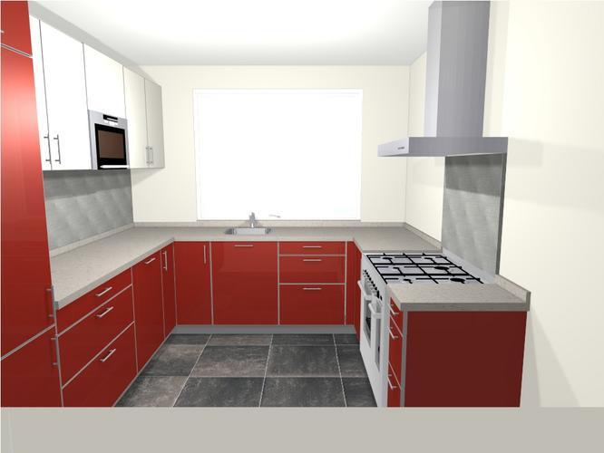 Keuken U Vorm : Ikea keuken u vorm werkspot