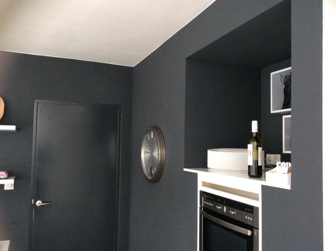 Keuken Muren Schilderen.Woonkamer En Keuken Muren Schilderen Werkspot