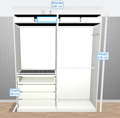 2x pax kast ikea monteren spiegel schilderijen utrecht leidsc werkspot. Black Bedroom Furniture Sets. Home Design Ideas