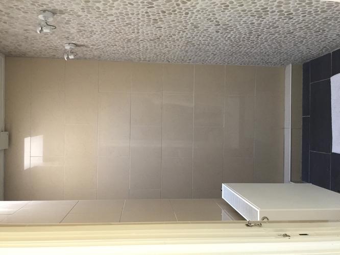 Betonnen Tegels Badkamer : Beton cire over tegels