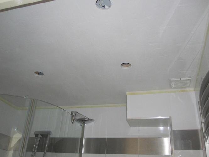 plafond badkamer stucen stuken totaal 3 m2 werkspot