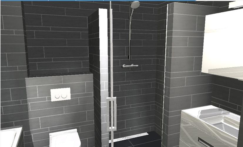 Slaapkamer ombouwen tot badkamer werkspot - Muur tegel installatie ...