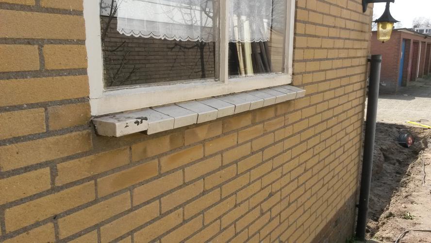 Vensterbank Tegels Buiten : Vensterbank tegels buiten schilderen tegels verven met betonverf