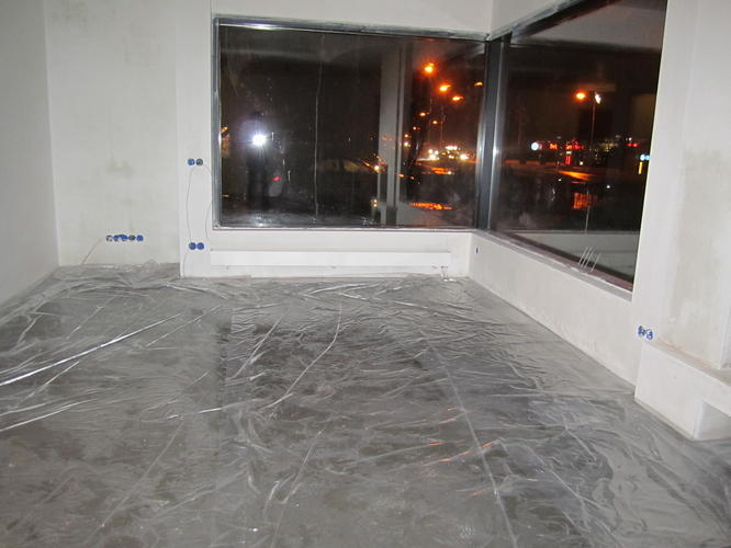 Transparant coaten zand cement vloer - Werkspot
