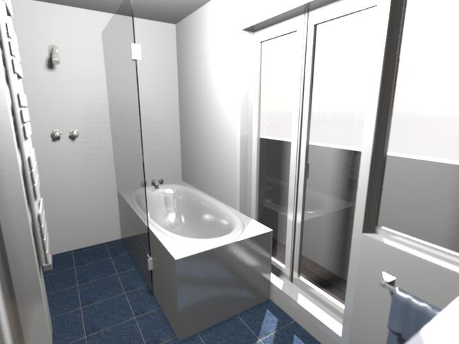 Verbouwing badkamer 6m2 - nieuwe inrichting - Werkspot