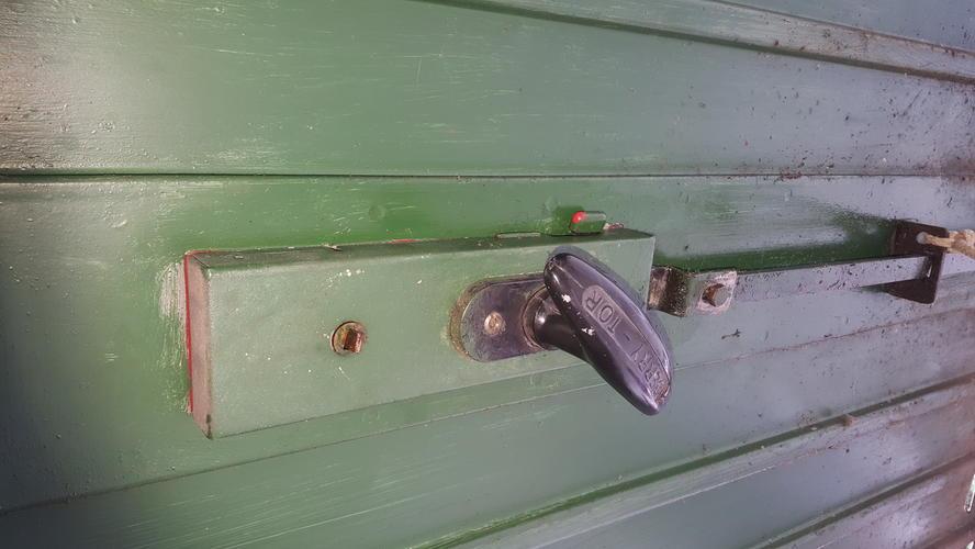 Slot garagedeur