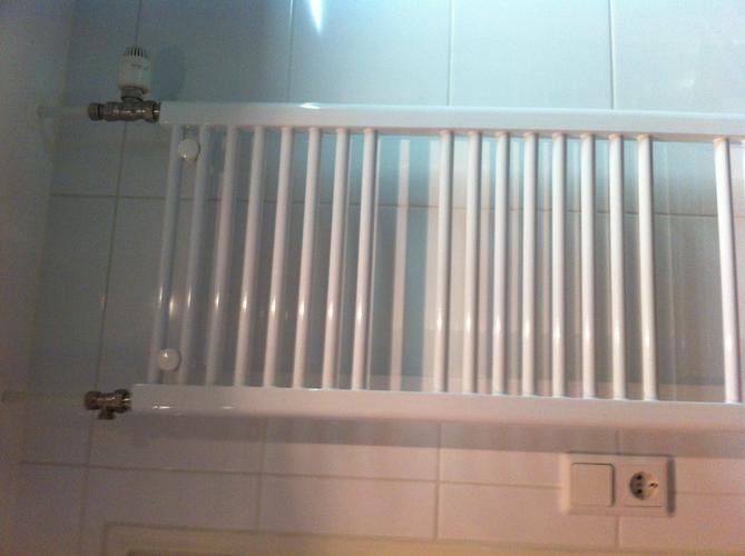 Aansluiten radiator 45 x 165 CM - Werkspot