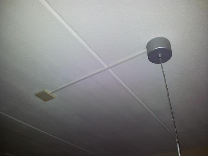 Vaak 4 stopcontacten verplaatsen + stopcontact plafond verplaatsen EU09