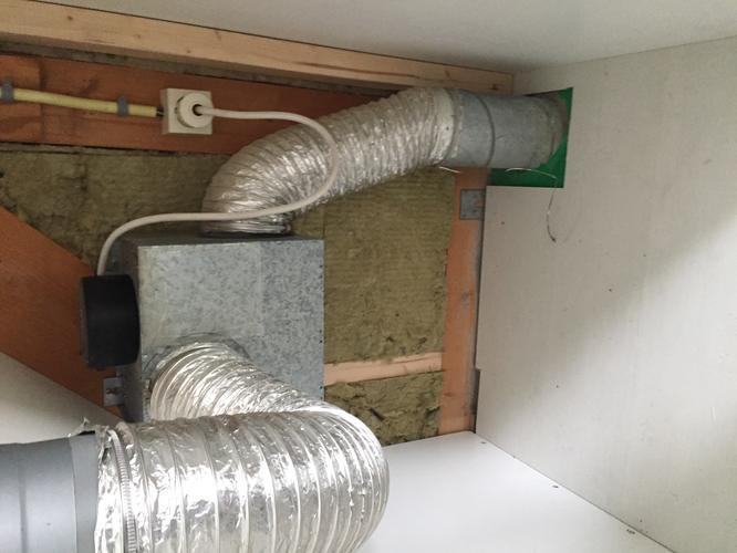 Afzuiger/ ventilatie in douche kapot - Werkspot